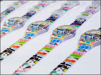 Swatch White Loop Event
